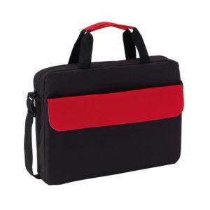 sacoche rouge noir