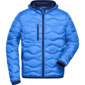 veste matelassée bleu