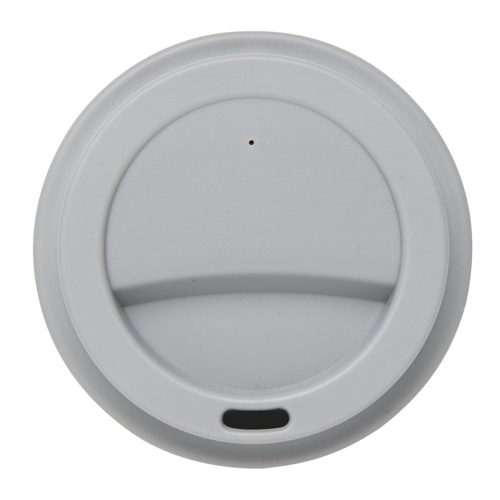 mug recyclable gris