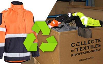 Recycler ses vêtements de travail